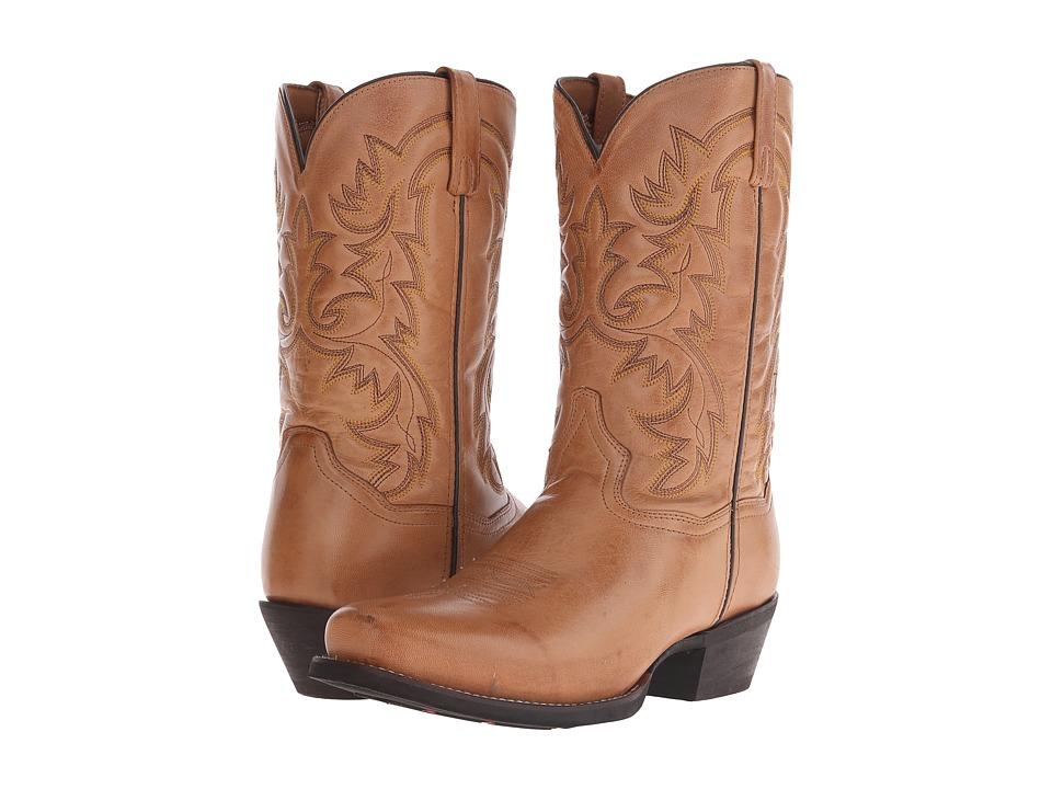 Laredo Bryce Burnished Tan Cowboy Boots