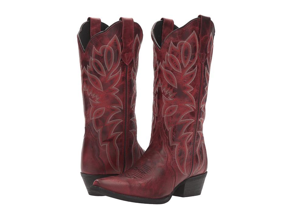 Laredo - Leeza (Red) Cowboy Boots