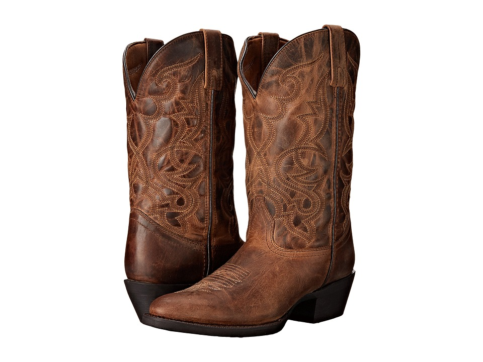 Laredo - Maddie (Distressed Tan) Cowboy Boots
