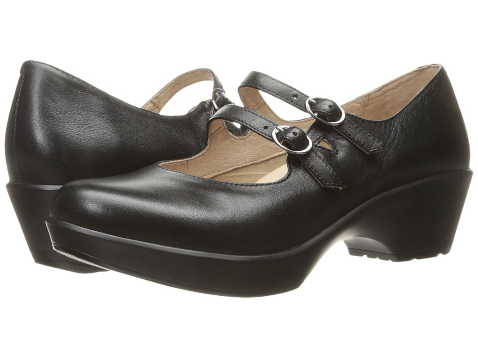 Dansko Josie (Black Nappa) Women's Shoes