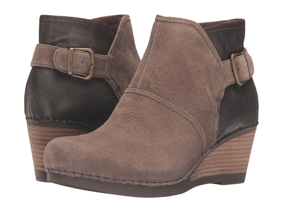 Dansko-Shirley  (Taupe Suede) Womens Boots