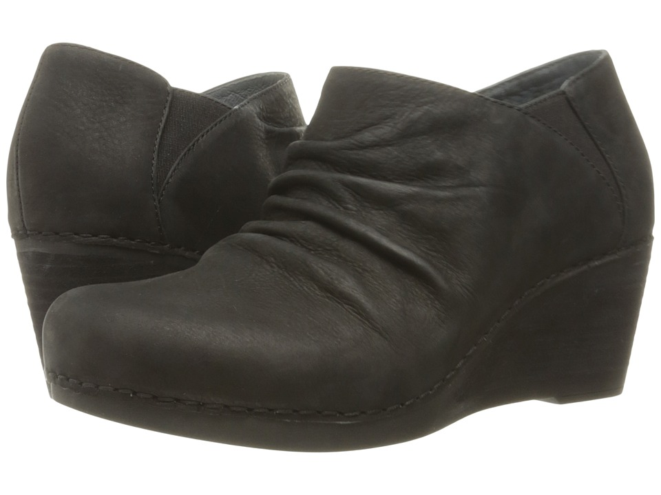 Dansko Sheena (Black Nubuck) Women