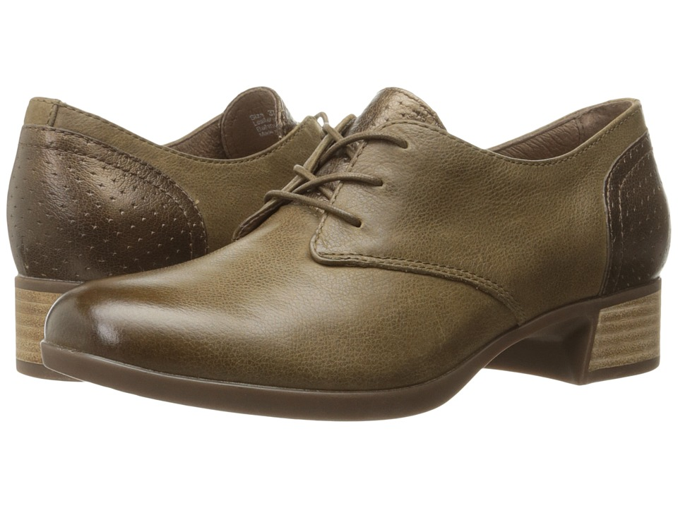 Dansko Louise (Taupe Burnished Nappa) Women