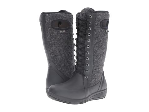Bogs Cami Lace Tall Wool - Black Multi