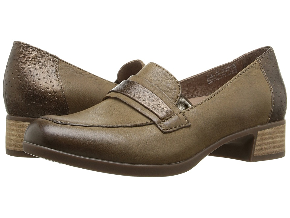 Dansko Lila (Taupe Burnished Nappa) Women