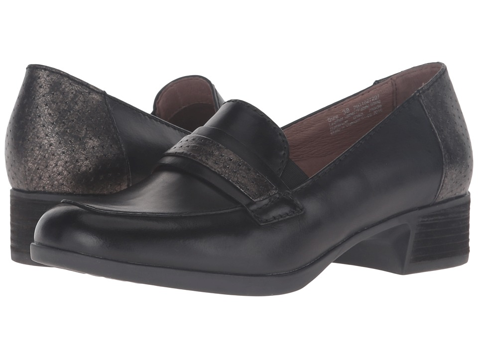 Dansko Lila (Black Antiqued Calf) Women