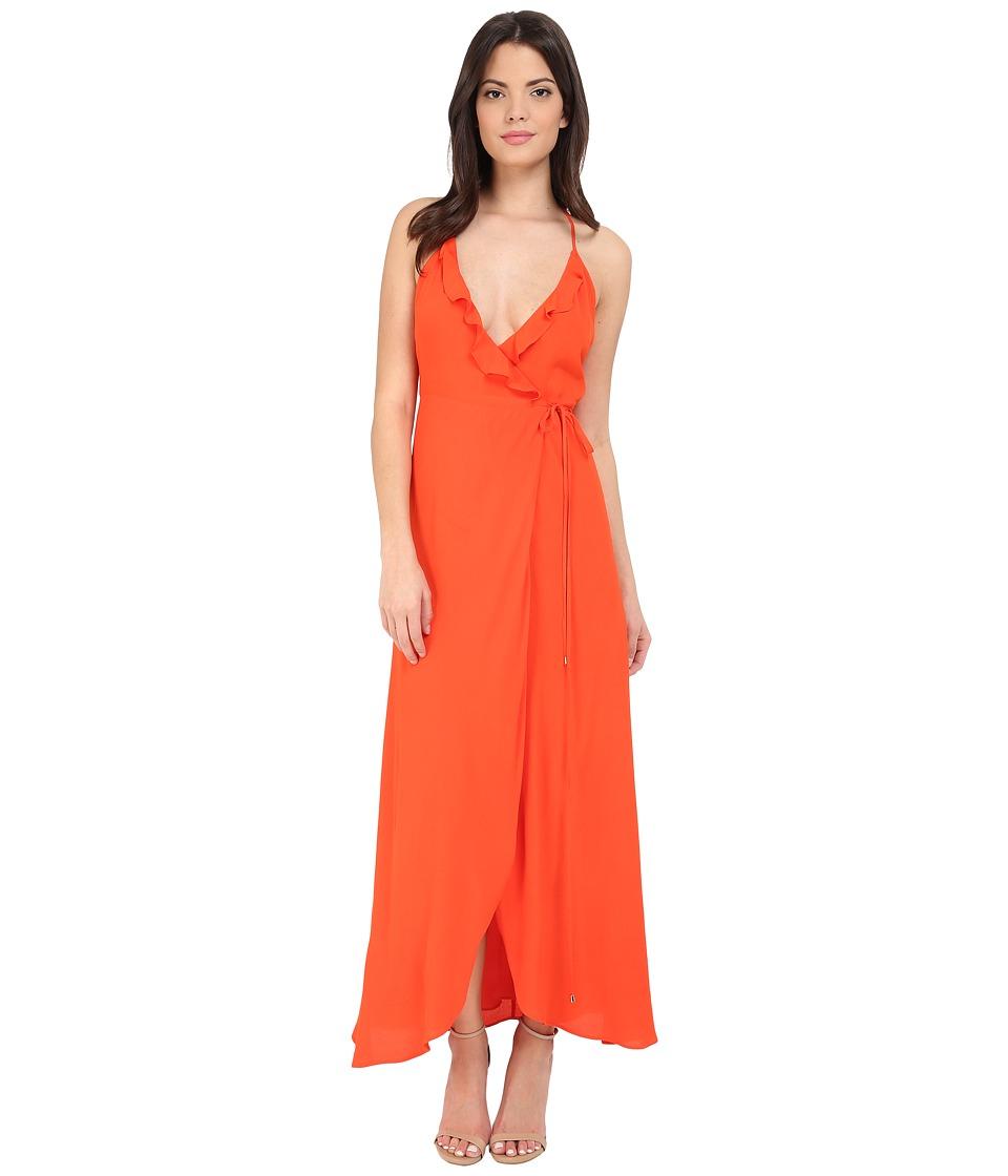 Lovers Friends Nostalgia Maxi Dress Coral Reef Womens Dress
