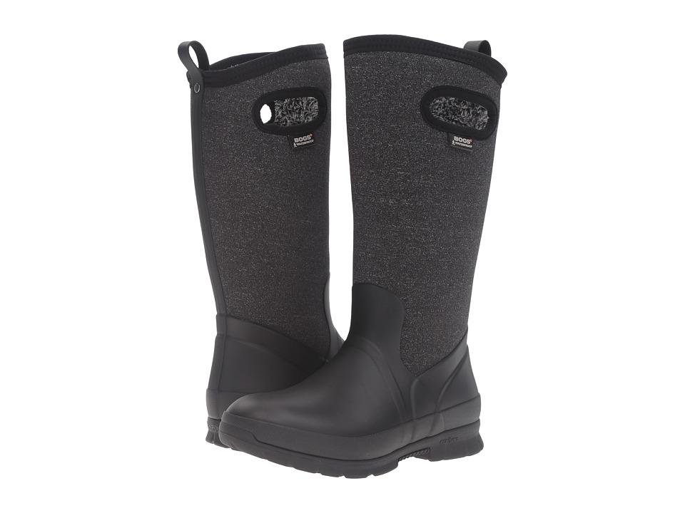 Bogs Crandall Tall (Black Multi) Women's Waterproof Boots