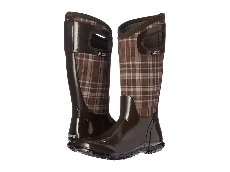 Bogs - North Hampton Plaid (Chocolate Multi) Women