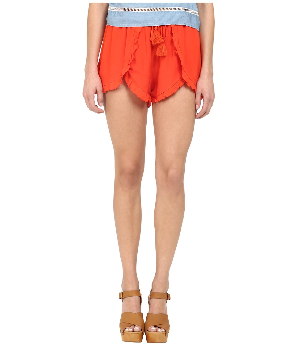 Lovers Friends Serene Shorts Coral Reef Womens Shorts