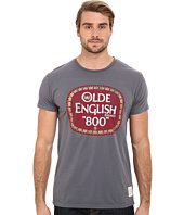 The Original Retro Brand - Vintage Cotton Old English Short Sleeve Tee