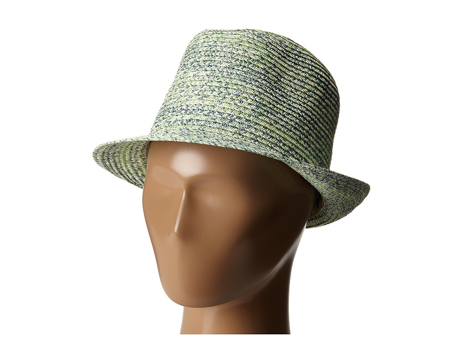 Appaman Kids Audrey Straw Fedora Infant/Toddler/Little Kids/Big Kids Pastel Green Fedora Hats