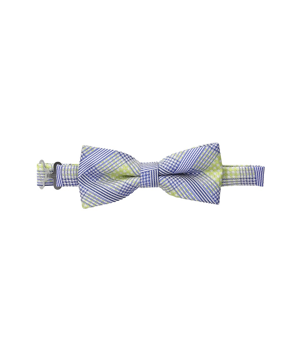 Appaman Kids Adjustable Size Bow Ties Little Kids Green Plaid Ties