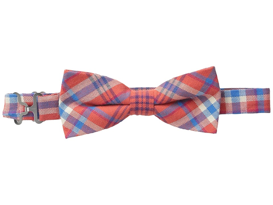 Appaman Kids Adjustable Size Bow Ties Little Kids Orange Plaid Ties