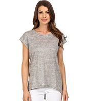 The Beginning Of - Metallic Slub Fiona High-Low Tee