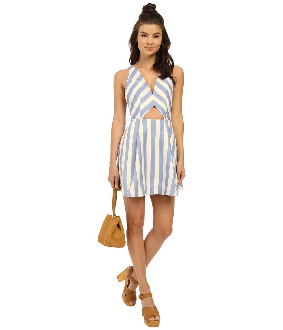 Lovers Friends Honor Dress Nautical Stripe Womens Dress