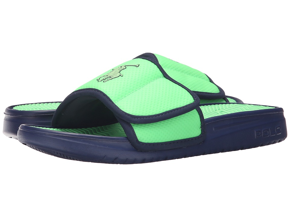 Polo Ralph Lauren - Romsey (Neon Green/Newport Navy Synthetic) Men