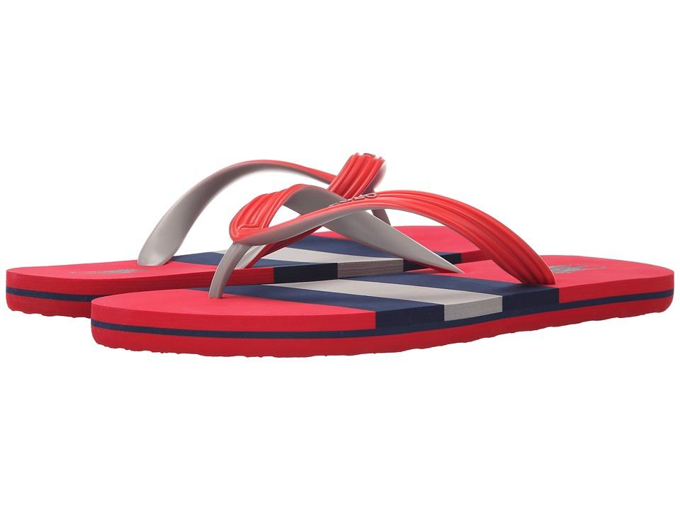 Polo Ralph Lauren - Whitlebury (Red Matte PVC) Men