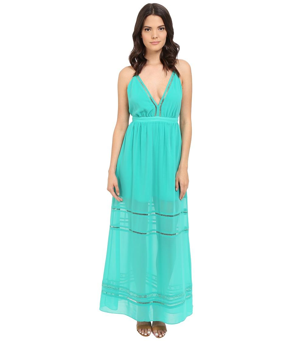 Lovers Friends Lunar Maxi Dress Turquoise Womens Dress