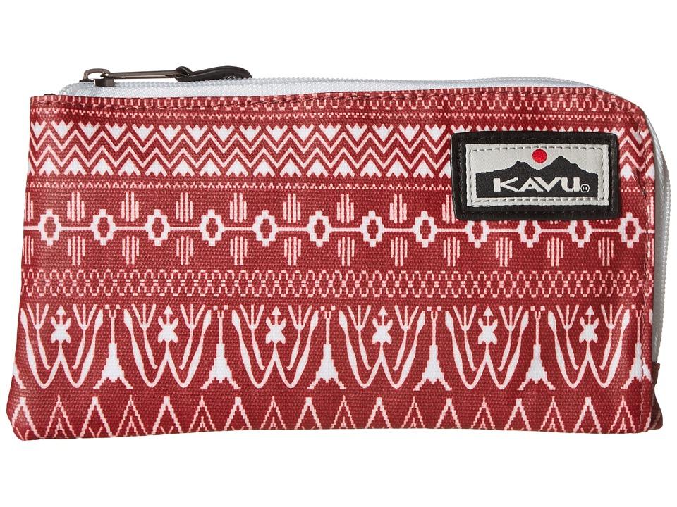KAVU - Cammi Clutch (Sangria) Clutch Handbags
