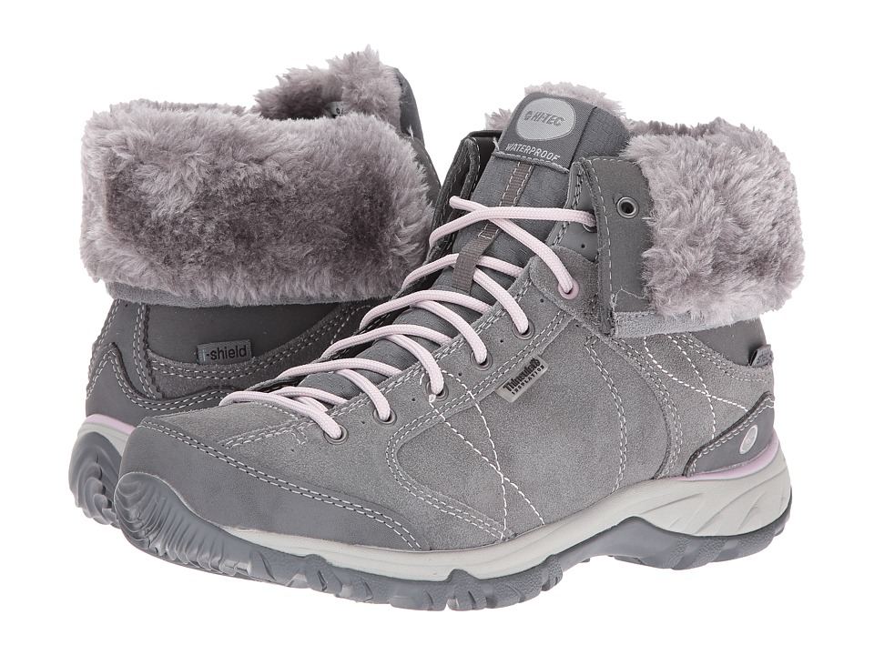 Hi-Tec Equilibrio Bellini Snug I Waterproof (Cool Grey/Violet Ice) Women