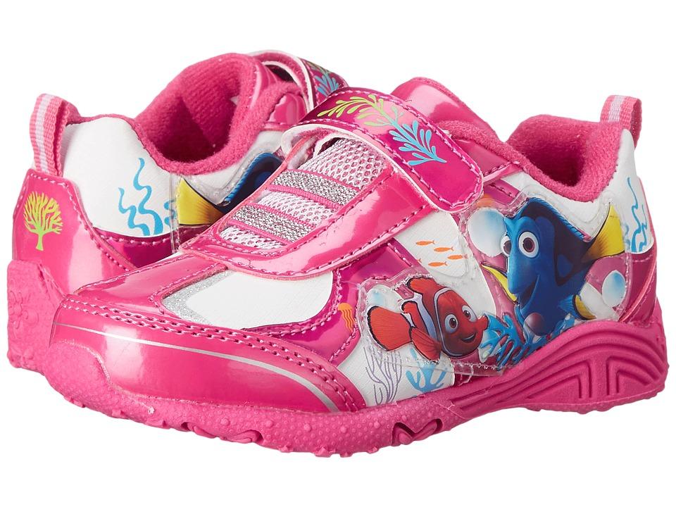 Josmo Kids Dory Lighted Sneaker Toddler/Little Kid Fuchsia/White Girls Shoes