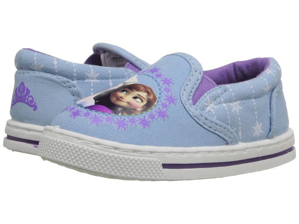 Josmo Kids Frozen Slip On Toddler/Little Kid Blue/Purple Girls Shoes
