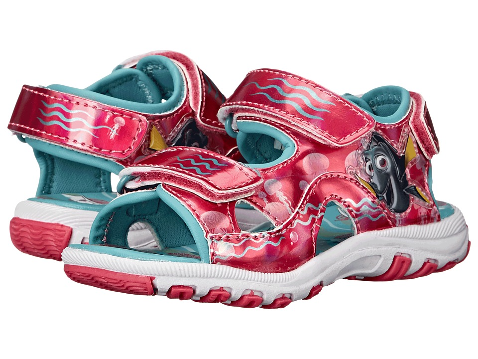 Josmo Kids Dory Lighted Sandal Toddler/Little Kid Red/Blue Girls Shoes