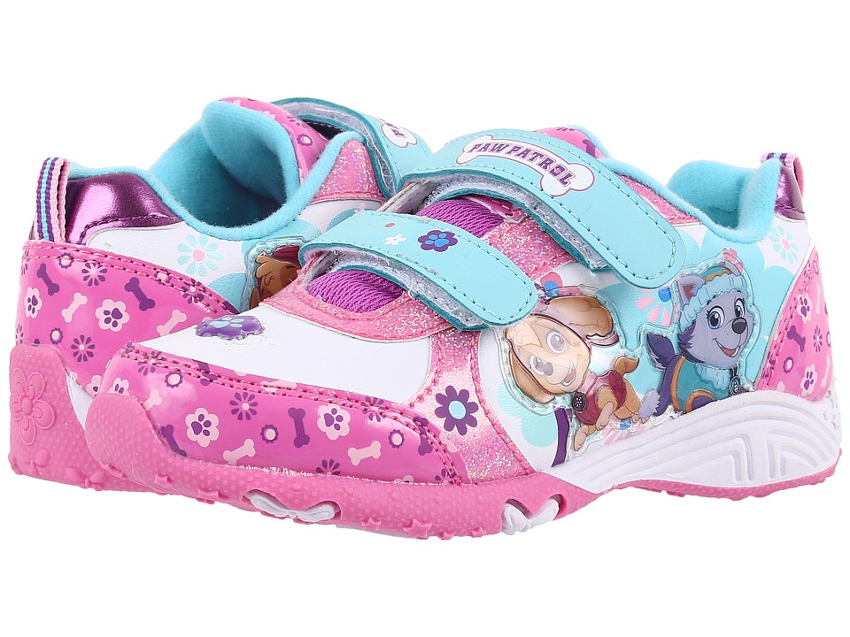 Josmo Kids Paw Patrol Sneaker Toddler/Little Kid Purple/White Girls Shoes