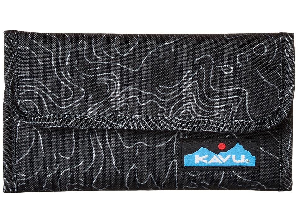 KAVU - Mondo Spender (Black Topo) Bags
