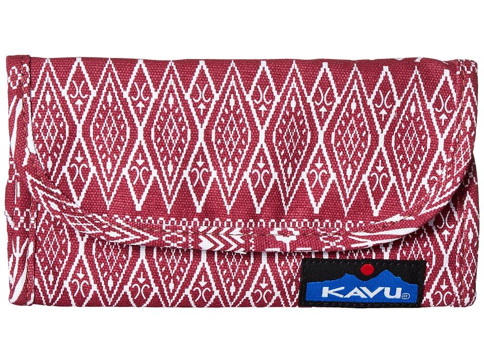 KAVU - Big Spender (Sangria) Wallet Handbags