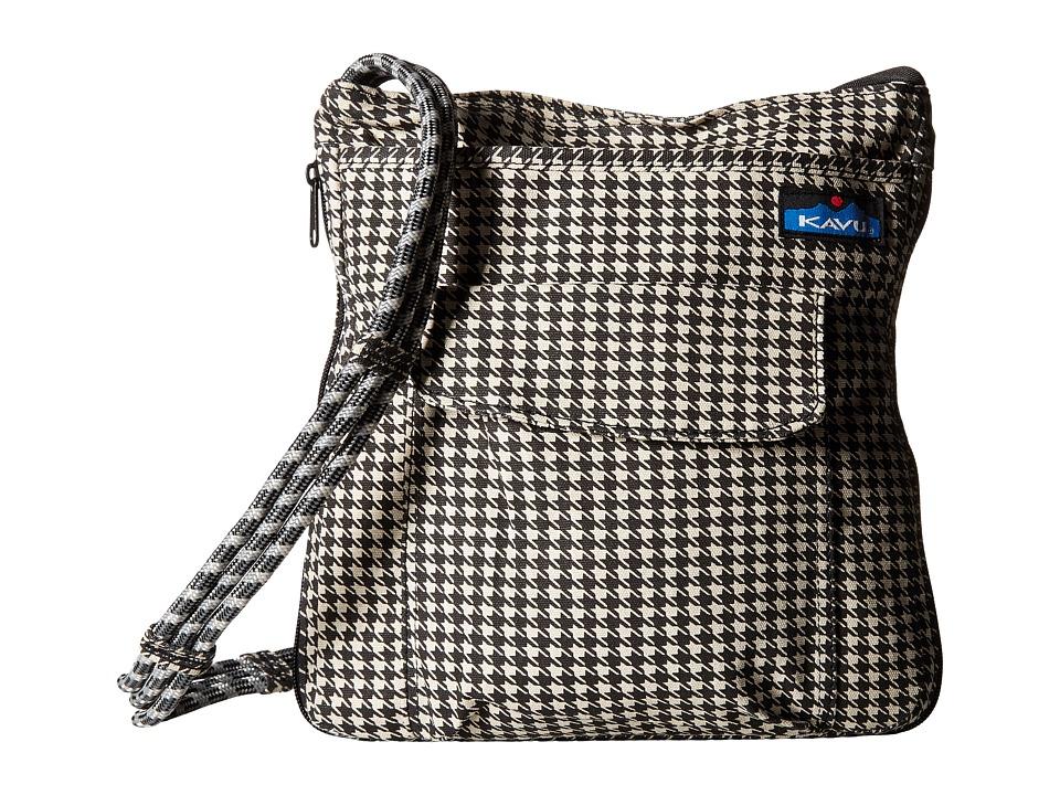 KAVU - Sidewinder (Houndstooth) Cross Body Handbags