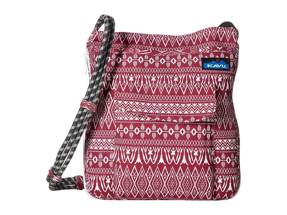 KAVU - Sidewinder (Sangria) Cross Body Handbags