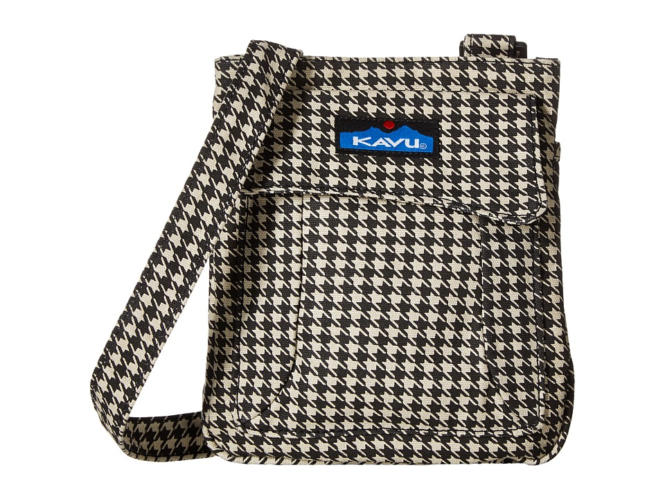 KAVU - Mini Keeper (Houndstooth) Cross Body Handbags