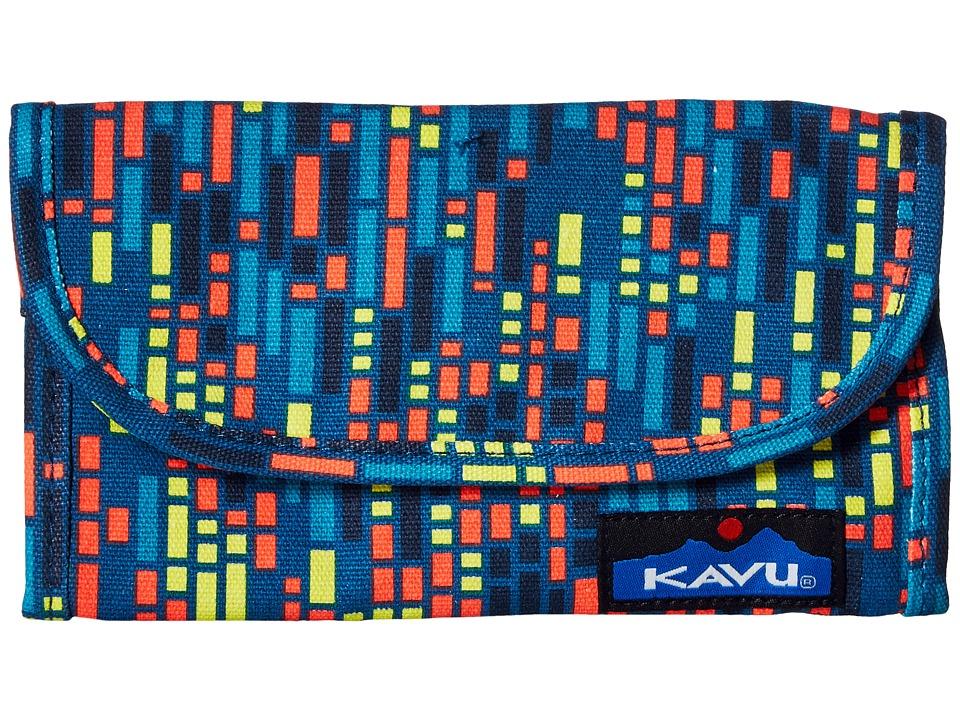 KAVU - Big Spender (Electric Rain) Wallet Handbags