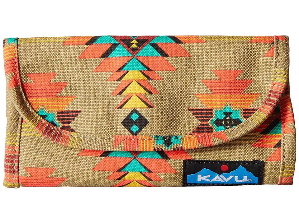 KAVU - Big Spender (Mojave Dunes) Wallet Handbags