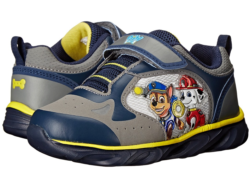 Josmo Kids Paw Patrol Sneaker Toddler/Little Kid Navy/Yellow Boys Shoes