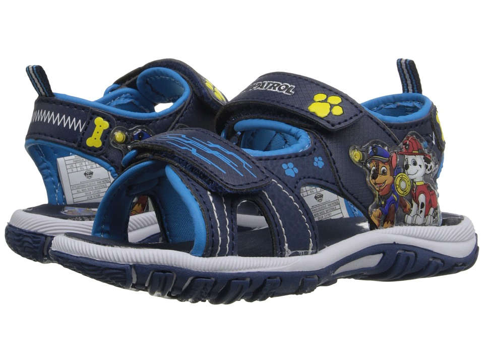 Josmo Kids Paw Patrol Sandal Toddler/Little Kid Navy/Blue Boys Shoes