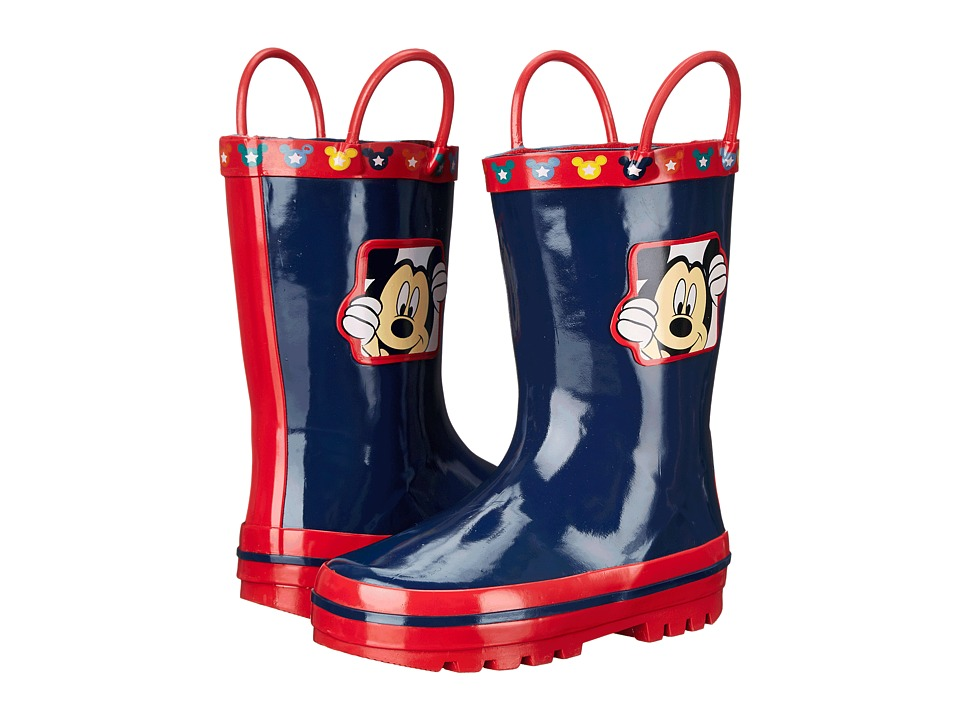 Josmo Kids Mickey Boot Toddler/Little Kid Navy/Red Boys Shoes