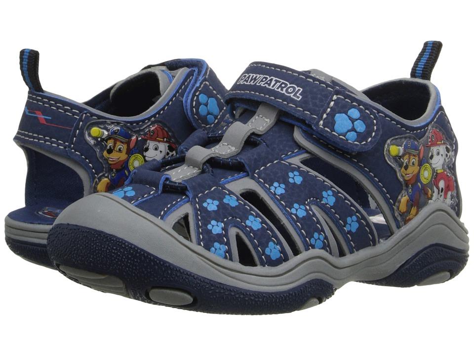 Josmo Kids Paw Patrol Fisherman Sandal Toddler/Little Kid Navy Boys Shoes