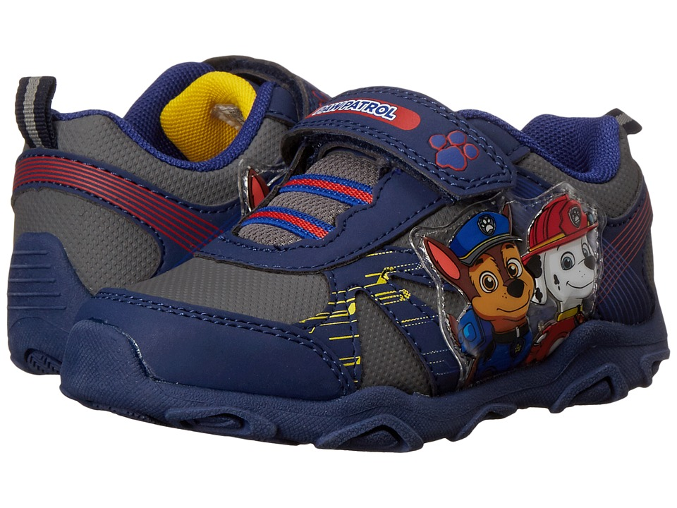 Josmo Kids Paw Patrol Lighted Sneaker Toddler/Little Kid Navy Boys Shoes