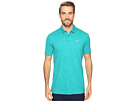 Nike Golf Mobility Emboss Polo (Rio Teal/Flat Silver)