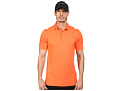 Nike Golf Mobility Emboss Polo (Turf Orange/Anthracite)
