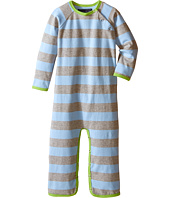 Toobydoo - Green/Blue/Grey Long Sleeve Jumpsuit (Infant)