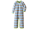 Toobydoo Toobydoo Green/Blue/Grey Long Sleeve Jumpsuit (Infant)