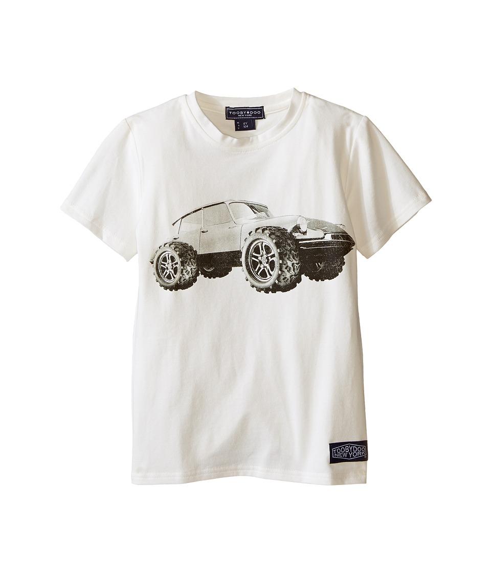 Toobydoo Short Sleeve Graphic T Shirt Infant/Toddler/Little Kids/Big Kids White Boys T Shirt