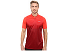 Nike Golf Tiger Woods Vl Max Sphere Print Polo (Light Crimson/Team Red/Reflective Silver)