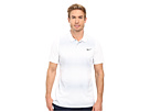 Nike Golf Tiger Woods Vl Max Sphere Stripe Polo (White/Wolf Grey/Reflect Black)