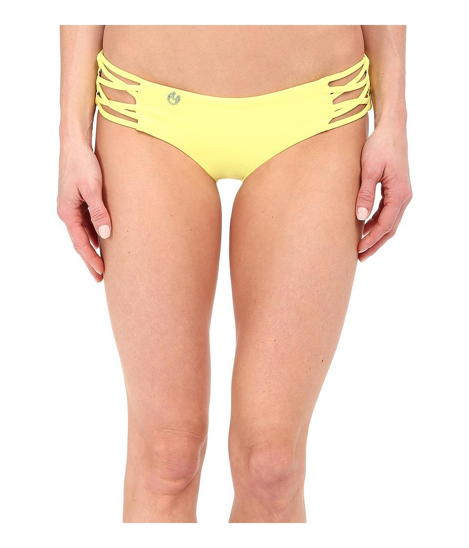 Maaji Firefly Stream Hipster Cut Bottom Citrus Womens Swimwear