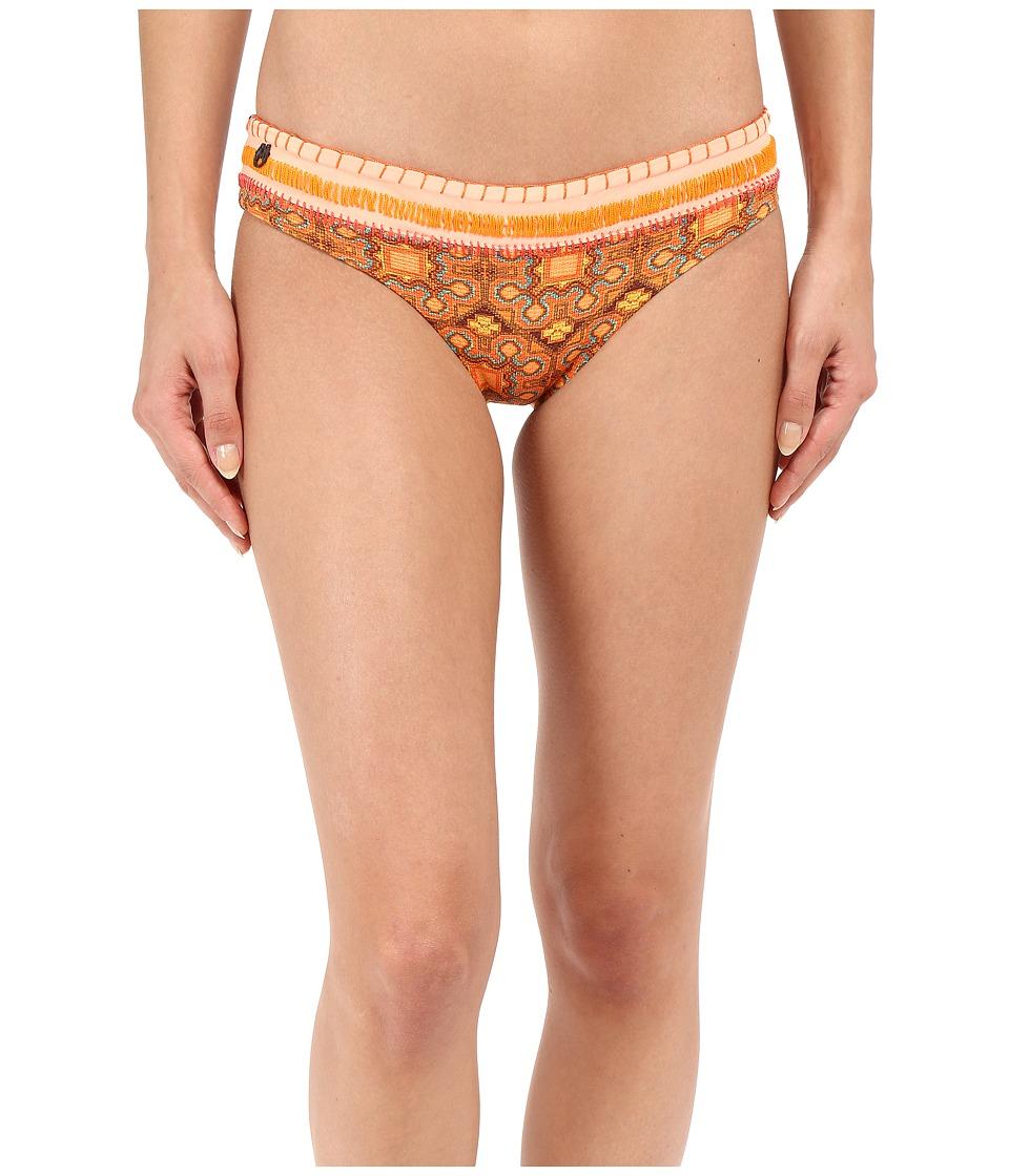 Maaji Scrapbook Stitches Signature Cut Bottom Multi Womens Swimwear